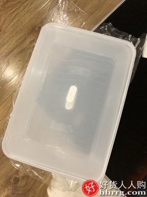 interlace,1# - 饺子盒专用冻饺子家用水饺盒,混沌盒冰箱鸡蛋保鲜收纳盒多层托盘