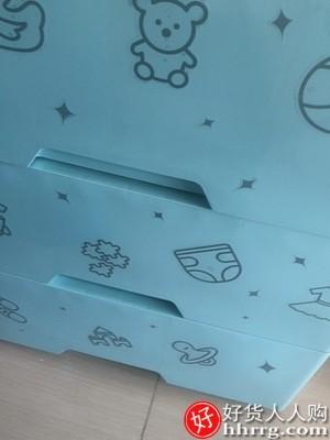 interlace,1# - 佳帮手加厚抽屉式收纳柜,储物多层儿童柜宝宝衣柜家用塑料五斗柜