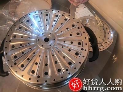 interlace,1# - 九阳蒸锅家用不锈钢蒸笼,大号二层三层加厚蒸屉小电磁炉煤气灶