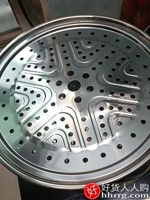 interlace,1# - 五都汇304不锈钢加厚蒸锅,三层蒸笼家用笼屉双层电磁炉煤气灶专用