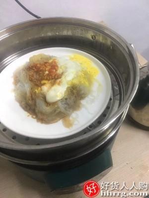 interlace,1# - 珍茶多功能电蒸锅,家用智能大容量预约定时三层电蒸笼多层蒸馒头蒸煮锅