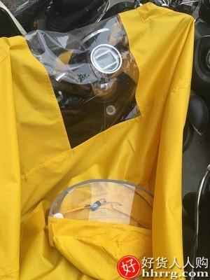 interlace,1# - 旅喆电动电瓶摩托车长款雨衣,全身防暴雨单人加大加厚新款雨披