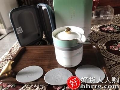 interlace,1# - 玛戈隆特西湖盛宴一壶两杯,便携式骨瓷旅行茶具