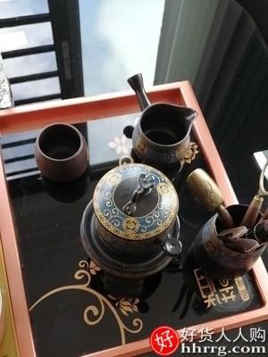 interlace,1# - 唐丰自动茶具套装,家用客厅小套懒人石磨泡茶壶功夫茶杯办公冲茶
