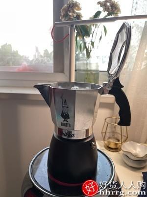 interlace,1# - Bialetti brikka 比乐蒂摩卡壶,双阀高压特浓煮咖啡壶家用手冲意式