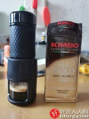 interlace,1# - STARESSO星粒便携式咖啡机,随身手压胶囊咖啡机一人用手动意式浓缩