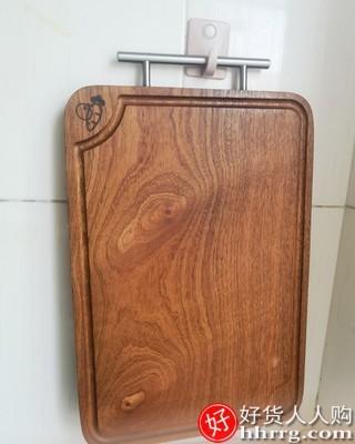 interlace,1# - 初心乌檀木实木整木菜板砧板切菜板,抗菌防霉家用切水果案板粘板占