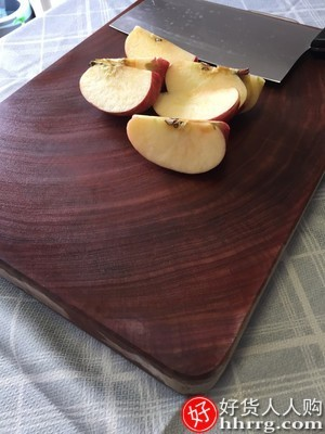 interlace,1# - 泰南老正宗越南红铁木砧板,抗菌防霉菜板实木家用切菜板厨房整木刀占案板