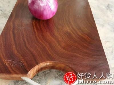 interlace,1# - 厨来厨往正宗铁木砧板切菜板,实木抗菌防霉家用厨房越南蚬木菜板长方形整木
