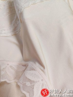 interlace,1# - 美雅挺高腰收腹内裤女,夏季收小肚子强力提臀冰丝无痕蕾丝纯棉档三角裤