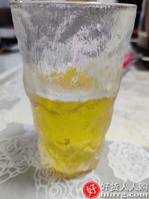 interlace,1# - 猫厨冰川纹玻璃杯水杯,果汁饮料杯子ins风树纹杯咖啡杯酒杯