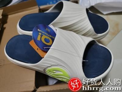 interlace,1# - 361拖鞋男女鞋,夏季外穿踩屎感沙滩鞋凉鞋防滑运动凉拖鞋