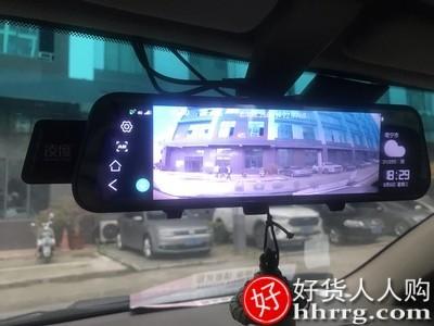 interlace,1# - 凌度行车记录仪,汽车载前后双录倒车影像流媒体无线高清夜视免安装