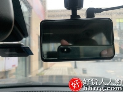 interlace,1# - 丁威特G68行车记录仪,全景高清夜视带电子狗一体机汽车载前后双录免安装无线