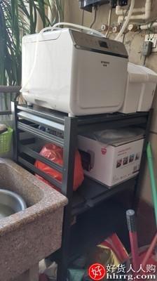 interlace,1# - 厨事优厨房置物架,落地式多层微波炉烤箱多功能收纳架子家用阳台储物货架