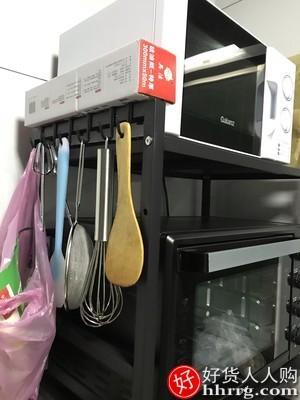 interlace,1# - 奥克斯伸缩微波炉烤箱架,厨房置物架台面家用桌面电饭锅收纳支架