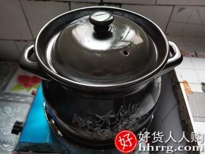 interlace,1# - 瓷之舞砂锅炖锅,家用燃气耐高温陶瓷锅煲汤锅专用汤锅沙锅汤煲瓦煲