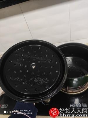 interlace,1# - 卡罗特Carote珐琅锅铸铁锅,家用炖锅炖盅砂锅汤锅焖烧锅不粘锅
