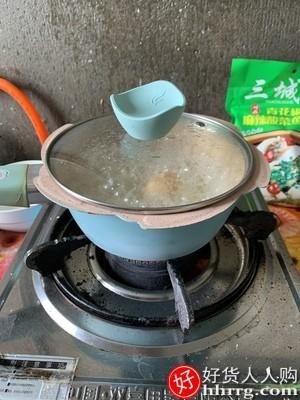 interlace,1# - 炊达人宝宝辅食锅小奶锅不粘锅,婴儿专用锅煎煮一体儿童蒸煮多功能麦饭石锅