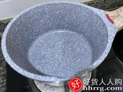 interlace,1# - SOWE宝宝辅食锅小奶锅儿童锅,婴儿煎煮一体麦饭石多功能不粘锅