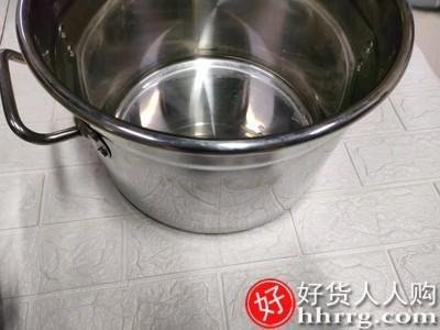 interlace,1# - 尚子不锈钢桶圆桶带盖卤水桶油桶煮锅,大容量商用汤桶加厚汤锅炖锅