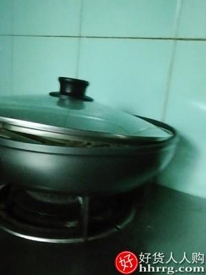 interlace,1# - 苏泊尔平底锅,家用麦饭石色不粘锅炒锅牛排锅不沾煎锅