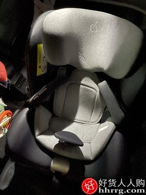 interlace,1# - 两只兔子求知安全座椅,0-7岁儿童汽车用360旋转座椅