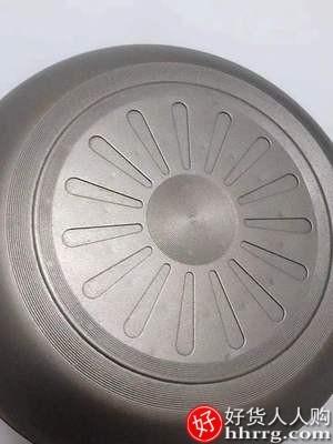 interlace,1# - 彪龙蜂窝炒锅不粘锅,家用炒菜锅电磁炉专用不沾平底锅