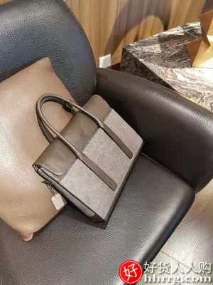 interlace,1# - BVP男包公文包,休闲商务真皮手提包大容量单肩男士皮包