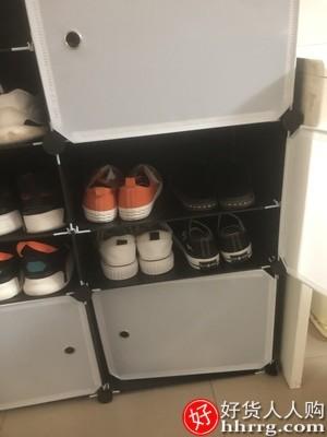 interlace,1# - 蔻丝鞋架子,家用简易经济型鞋子防尘多层大容量鞋柜