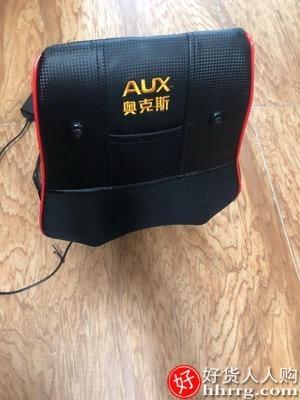 interlace,1# - 奥克斯颈椎按摩器,颈部腰部背部多功能腰椎靠垫全身电动肩部揉捏枕