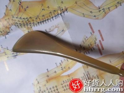interlace,1# - 新力牛角刮痧板,面部背部头部美容棒全身通用脸部拨筋棒