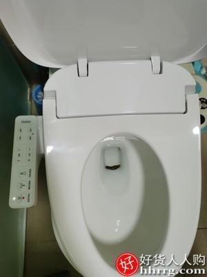 interlace,1# - 海尔智能马桶盖,全自动家用即热式坐便盖板冲洗器带烘干加热马桶圈