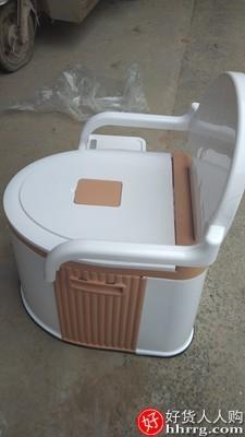 interlace,1# - 倍亿多可移动马桶,老人孕妇坐便器家用便携式起夜尿桶便盆坐便椅
