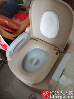 interlace,1# - 汇丰家用老人坐便器,可移动马桶孕妇椅室内病人便携式厕所凳