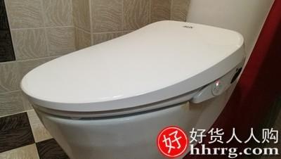 interlace,1# - 奥克斯全自动即热式智能马桶盖,家用坐便盖圈冲洗器带烘干遥控加热