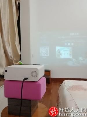 interlace,1# - sads家用高清4K投影仪,wifi小型便携式智能1080P办公一体机迷你微型无屏墙投影机