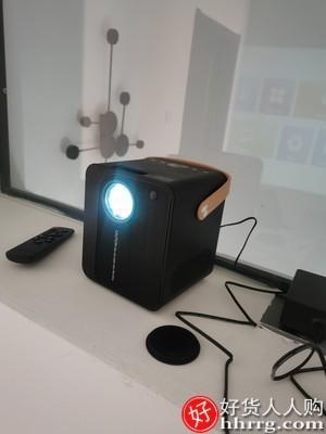 interlace,1# - 诺必行Y8手机投影仪,家用超高清4K智能一体机无线迷你微小型投影机
