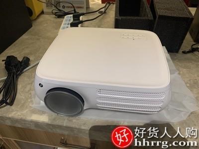 interlace,1# - 轰天炮s160w家用投影仪,wifi无线1080p手机投墙高清智能投影机