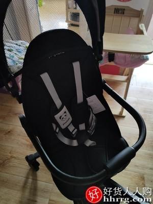 interlace,1# - playkids遛娃双向婴儿推车,可坐可躺轻便折叠手推车高景观溜娃神器