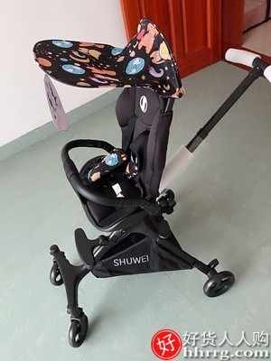 interlace,1# - 述威小超人婴儿手推车,高景观超轻便折叠可坐可躺婴儿手推车