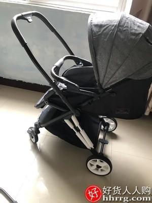interlace,1# - 约吉罗婴儿推车,轻便折叠可坐可躺双向高景观避震宝宝伞车