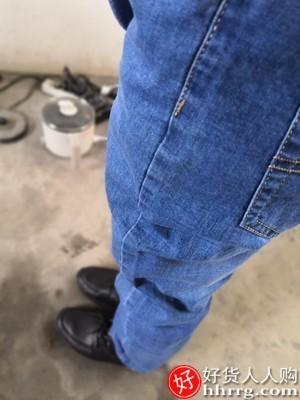 interlace,1# - 南极人冰丝男士牛仔裤,夏季超薄直筒宽松长裤子