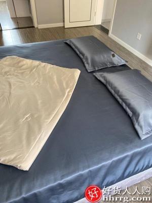 interlace,1# - 北极绒冰丝床单单件,夏季被单单人儿童夏天枕套三件套凉感纯色
