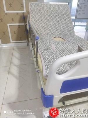 interlace,1# - 嘉顿老人医用护理床,手动升降家用多功能病床便孔瘫痪病翻身医疗床