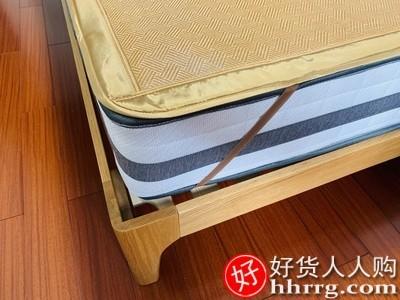 interlace,1# - 黄古林凉席藤席,夏季家用折叠冰丝双面正反两用床笠席子
