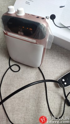 interlace,1# - 索爱S318小蜜蜂扩音器,教师用麦克风小型多功能耳麦便携式扬声喊话播放机
