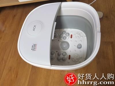interlace,1# - 艾斯凯可折叠泡脚桶,家用全自动加热恒温调节小型电动按摩洗脚盆