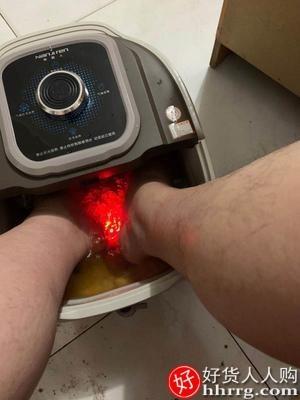 interlace,1# - 南极人足浴盆全自动按摩洗脚盆,电动恒温加热泡脚桶家用恒温高深桶