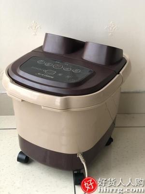 interlace,1# - 本博泡脚高深桶足浴盆,按摩全自动洗脚恒温电动加热家用过小腿足疗盆